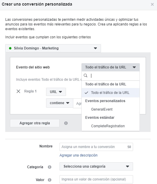 crear-conversion-personalizada-pixel-facebook-silvia-domingo