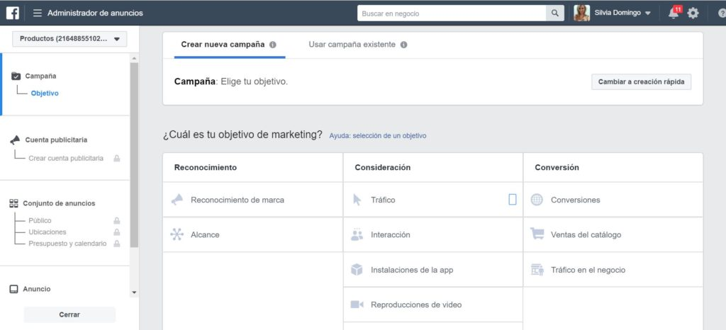como-crear-campana-facebook-ads-paso-a-paso-silvia-domingo-marketing